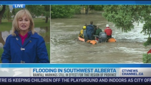 CTV News Channel: Flood concerns easing