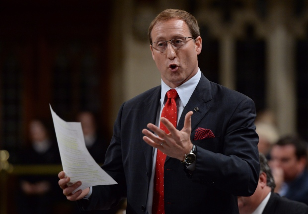 Peter MacKay during question period