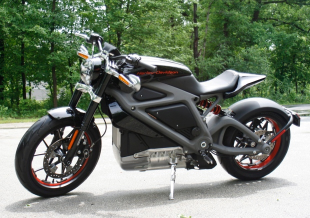 Harley-Davidson's new electric motorcycle