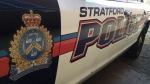 A Stratford Police Service cruiser seen here in this undated file photo.