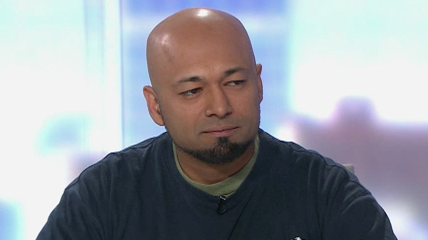 Security consultant and RCMP informant Mubin Shaikh appears on CTV News, Friday, June 20, 2014.