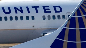 A United Continental Airlines jet is seen in 2011. (Amy Sancetta/AP)
