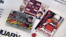 "Ontario-based firm In the Game is poised to release its ""Enforcers"" set of cards, which aims to honour the league's greatest fighters."