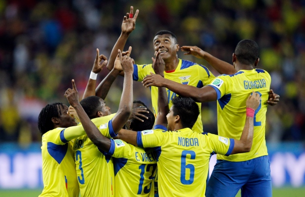 Ecuador stays in contention at World Cup with 2-1 win over ...
