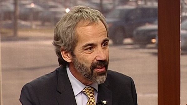 Daniel Paillé, seen here at CTV Montreal in Dec. 2011, is stepping down for health reasons
