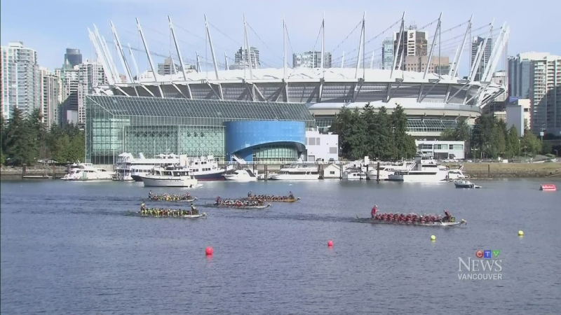 The Vancouver Dragon Boat Festival is seen in this file image from June 21, 2014.