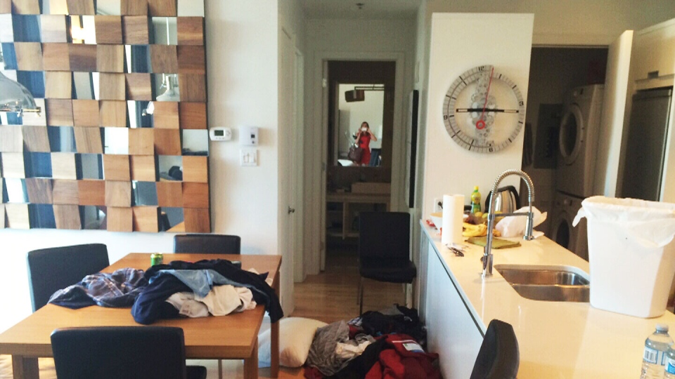 Here's a look inside the Montreal luxury condo where three Quebec prison escapees were arrested on Sunday, June 22, 2014.