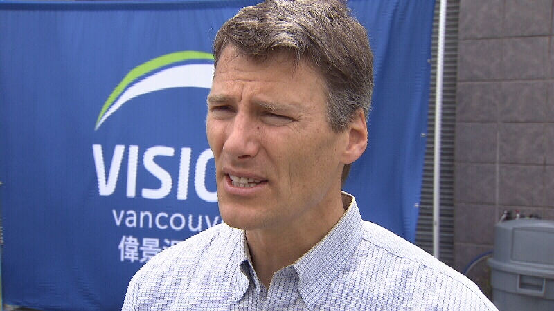 Vancouver Mayor Gregor Robertson said that while the number of murders in Vancouver was down overall in 2013, the latest brazen public shootings are cause for concern. (CTV)