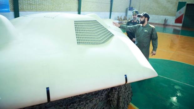 US RQ-170 Sentinel drone Iran's Revolutionary Guards, Iran