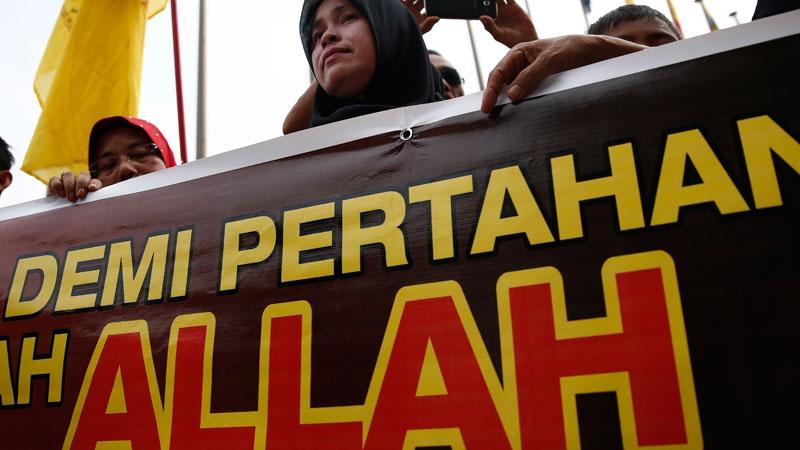 A Muslim woman in Malaysia