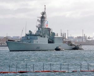 HMCS Iroquois Canadian warship