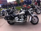 Thouands of bikers from across Ontario and Michigan gathered for the Bob Probert Memorial Ride in Windsor, Ont. on Sunday, June 22, 2014. (Adam Ward / CTV Windsor)