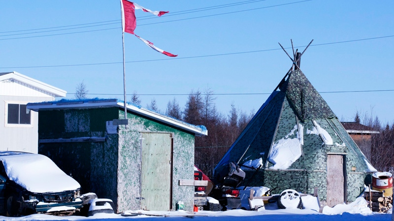 Attawapiskat First Nation is shown in this file photo.