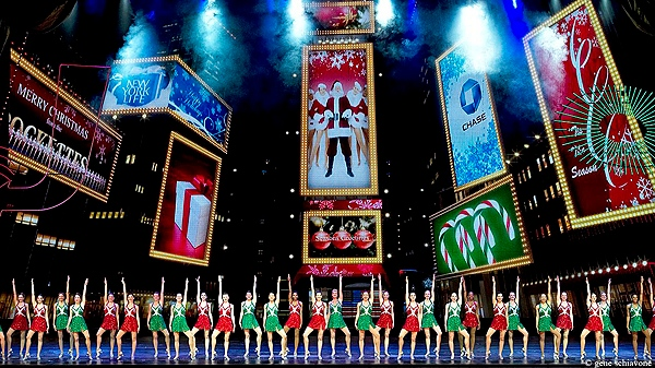 In this Nov. 9, 2011 image released by MSG Entertainment, a scene is shown from the Radio City Christmas Spectacular at Radio City Music Hall in New York. (AP Photo/MSG Entertainment, Gene Schiavone)
