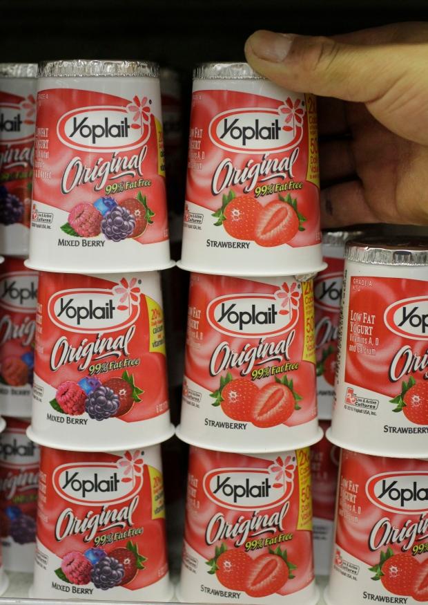 Yoplait switching sweeteners