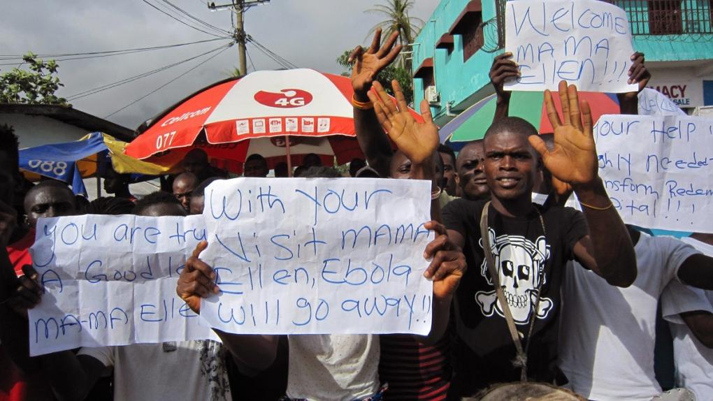 Ebola virus spreads in Liberia