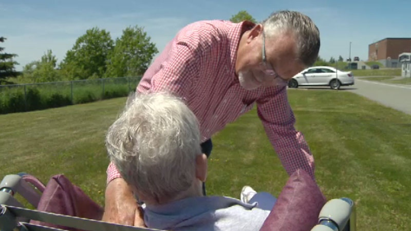 Gord MacInnis would like Nova Scotia to adopt euthanasia laws so he can end the life of his sister who is living with Alzheimer's.