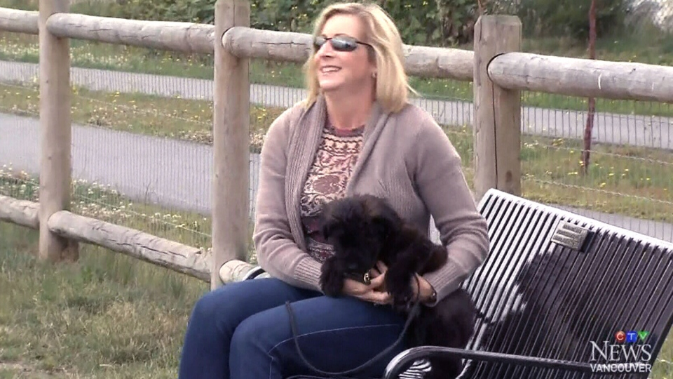 Tanya Oliva has taken leave from work to care for her new puppy, Casper.