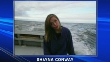 Shayna Conway is in hospital after she was shot in a suspicious incident that left four other victims dead, Thursday, Dec. 15, 2011.