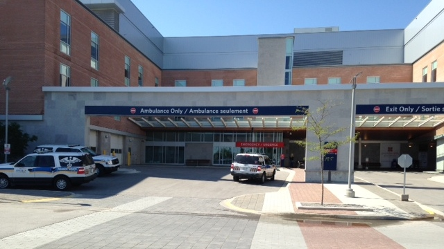 Royal Victoria Regional Health Centre can be seen in Barrie, Ont. in this undated photo. (CTV Barrie)