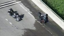 CTV Barrie: OPP motorcycle crash