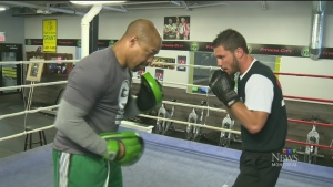 CTV Montreal: Rising pugilist to star in fight
