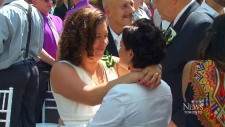 More than 100 LGBTQ couples get married in T.O.