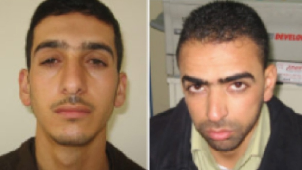 Shin Bet provides photos of abduction suspects