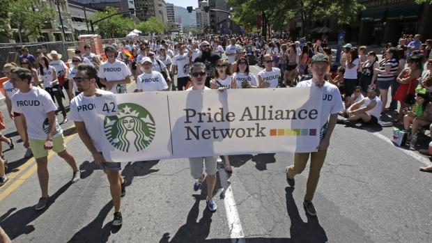 Starbucks Pride