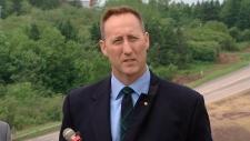 Justice Minister Peter MacKay in Nova Scotia