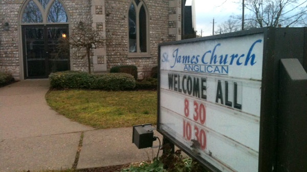 Reverend George Ferris was the minister at St. James Anglican Church in Paris, Ont. for 10 years starting in 1981. (Phil Molto / CTV News)
