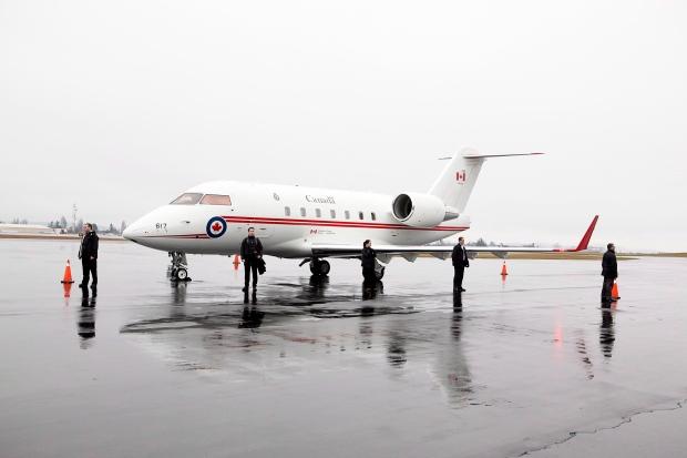 Challenger jet