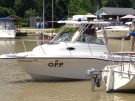 A replacement patrol boat for Elgin County OPP is seen in Port Stanley, Ont. on Friday, June 27, 2014. (Gerry Dewan / CTV London)