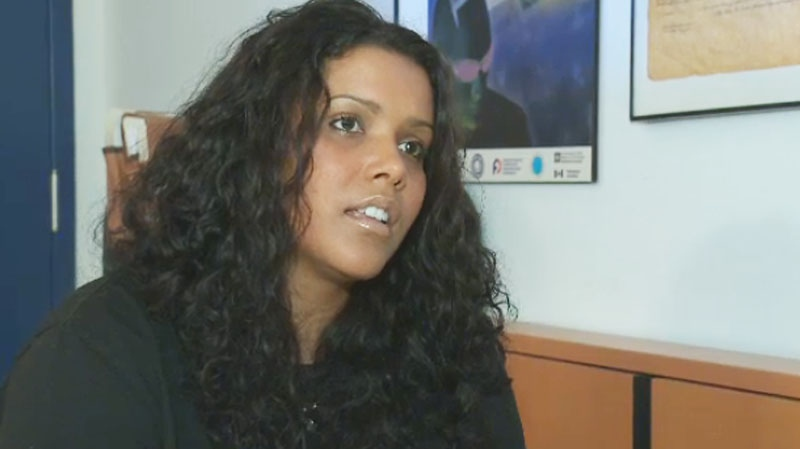 Dominique Jacobs spoke to Stephane Giroux Friday about her disappointment concerning the judgment involving her sons. (CTV Montreal)