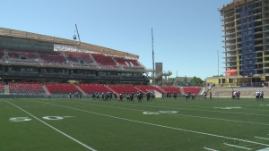 The TD Place stadium at Lansdowne will officially open July 18, 2014 for the Ottawa Redblacks sold out home opener.