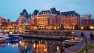 The historic hotel on Victoria's Inner Harbour will shutter at the end of the day Tuesday, leaving approximately 500 employees temporarily out of work. (Fairmont Empress Hotel)