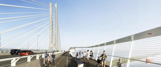 Design for Champlain bridge replacement