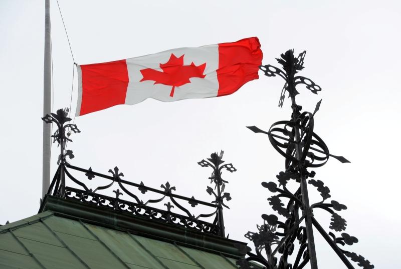Canada Day flag - Canada Clicked crop