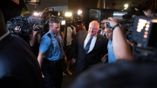 Rob Ford out of rehab, returns to city hall