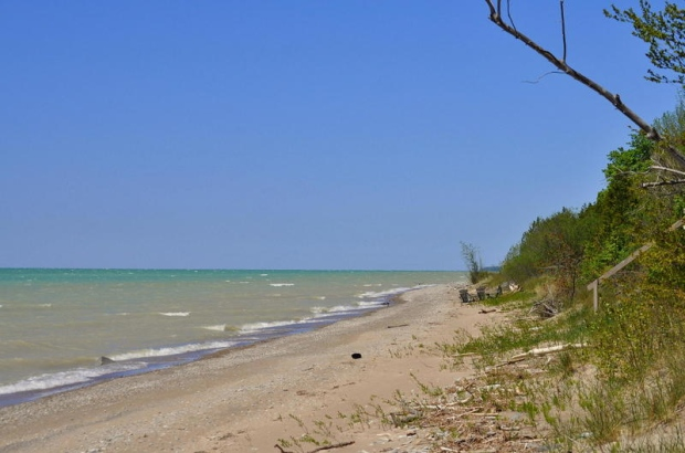 Lake Huron beach