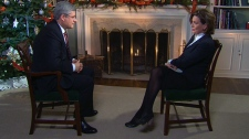 CTV News Chief Anchor and Senior News Editor in an exclusive interview with Prime Minister Stephen Harper.