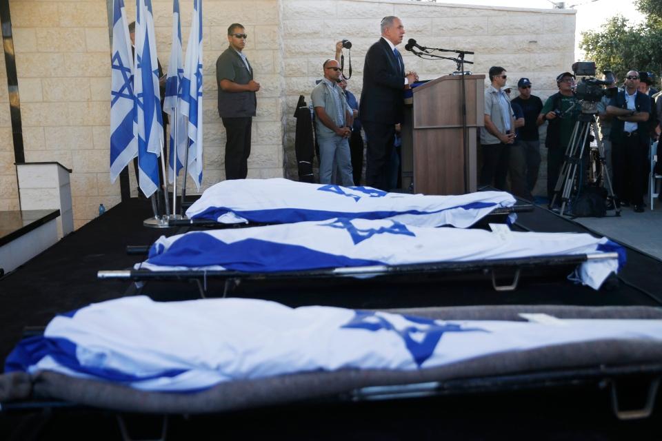 Slain Israeli teens buried