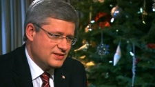 CTV National News anchor Lisa LaFlamme helms year-end interview with Prime Minister Stephen Harper