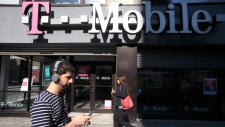 T-Mobile store in New York