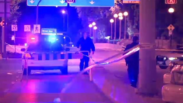Broadway and Main Street stabbing