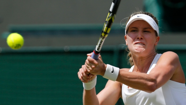 Eugenie Bouchard reaches Wimbledon semis