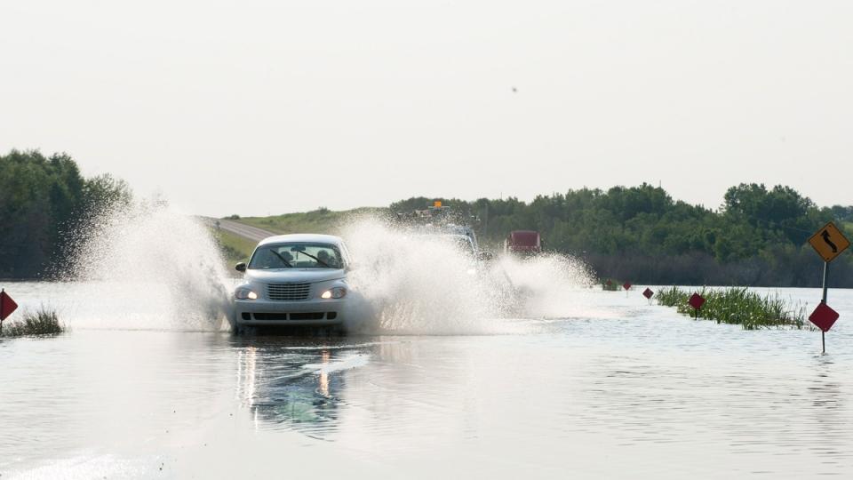 Flooding in Humboldt, Sask.
