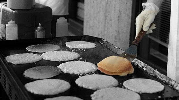 Stampede Breakfasts, pancake breakfasts, flapjacks