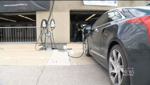CTV Montreal: Electric car stations unveiled