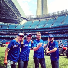 Sheepdogs Jays game